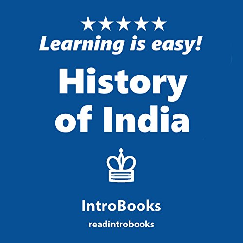 History of India audiobook cover art