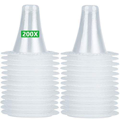 200 Stück Ersatzschutzkappen für alle Braun ThermoScan Ohrthermometer Ohr fieberthermometer Schutzkappen thermometer