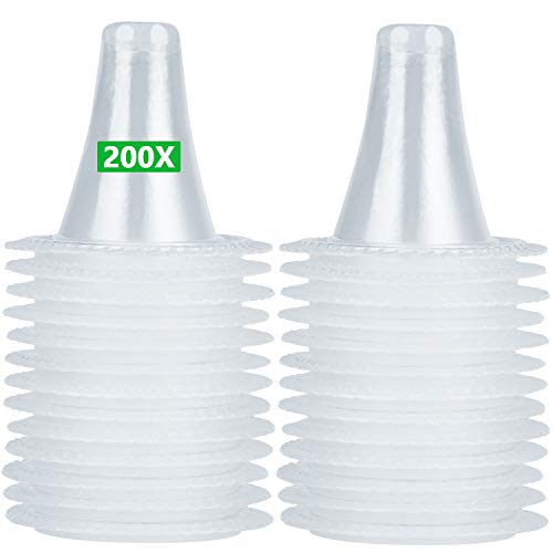 200 Stück Ersatzschutzkappen für Braun ThermoScan Ohrthermometer Ohr fieberthermometer Schutzkappen