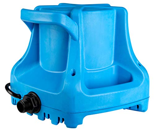 Little Giant 577301 APCP-1700 Automatic Swimming Pool Cover Submersible Pump, 1/3-HP, 115V, Blue