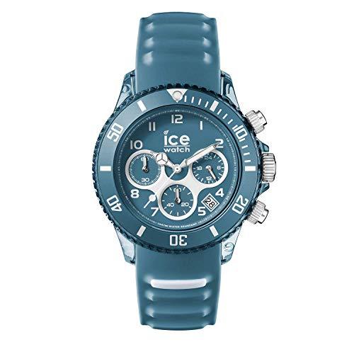 Ice-Watch - ICE aqua Bluestone - Men\'s wristwatch with silicon strap - Chrono - 012737 (Large)
