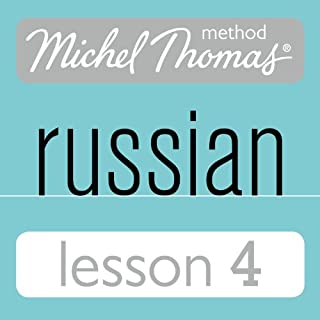 Couverture de Michel Thomas Beginner Russian, Lesson 4