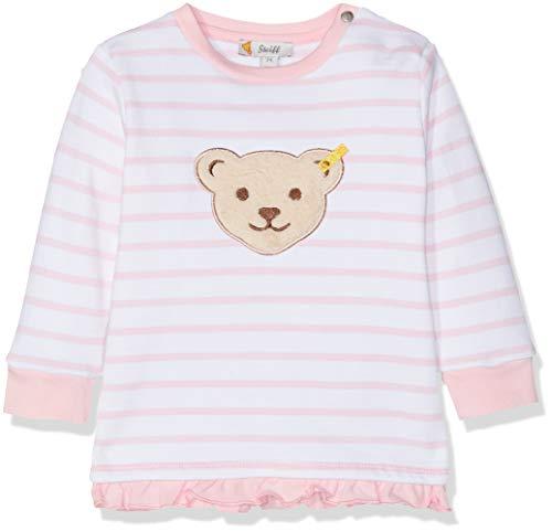Steiff Sweatshirt Sweat-Shirt, Rose (Orchid Pink 3006), 74 Bébé Fille
