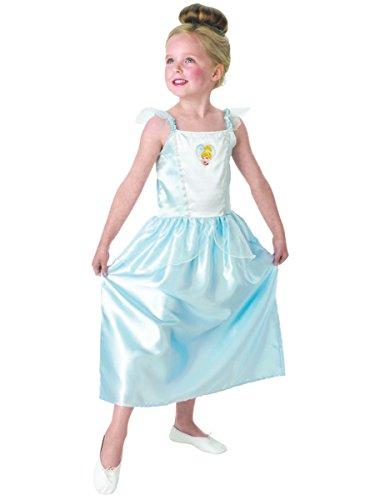 Princesas Disney - Disfraz de Cenicienta azul para nia, infantil 3-4 aos (Rubie's 886508-S)