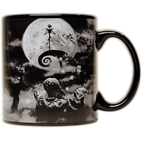 Disney Nightmare Before Christmas Boogeyman Jumbo Ceramic Mug, 20-ounces, Multicolor