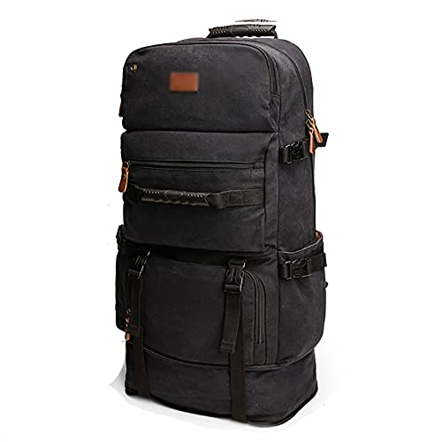 rff Mochila para montañismo al Aire Libre/Viajes de computadora Extra Grande Capacidad de Ocio Bolsa de Equipaje/Bolsa de la Escuela (Color : B, Size : 38×23×(60-72) cm)