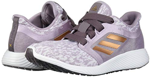 adidas Women's Edge Lux 3 Running Shoe, Soft Vision/Copper met./ Vision Shade, 8.5 Standard US Width US 5