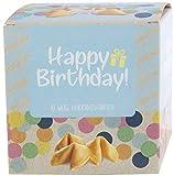 """NI HAO """"Happy Birthday"""" Glückskekse in schöner 10er Box mit einzeln verpackten Keksen und verschiedenen Sprüchen - Made in Germany"""