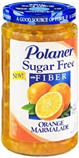 Polaner Sugar Free Orange Marmalade with Fiber 13.5oz