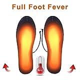 FASD USB Scarpe Riscaldata Solette Piede Piedi Warming Rilievo più Caldo Calzino Stuoia del Rilievo Esterno di Inverno Sport Riscaldamento Solette Suole Caldi