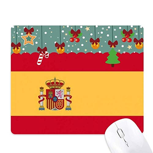 Alfombrilla de ratón con diseño de la bandera de España, con texto en inglés 'Europe Country Shop'