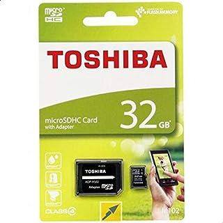 توشيبا بطاقة ذاكرة متوافقة مع متعدد - بطاقات مايكرو اس دي ذات سعة عالية - 32 جيجابايت ADP-HS02