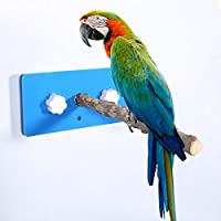 DERCLIVE 鳥 立ちラック ペッパー ウッド 空中スタンド スタンド 吸盤付き カーシャワー シャワー 旅行 吸盤付き プラスチック 壁掛け 鳥栖 支え 棚 ケージ用 オウムシャワー 入浴パーチスタンド