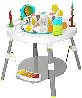 3 in 1 Baby's View 3-Stage Activity Centre Rotating Seat Piano Play Toys Play & Learn Table