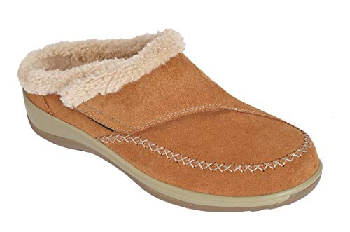 Orthofeet Slipper -S731 - Brown Size 8 Medium