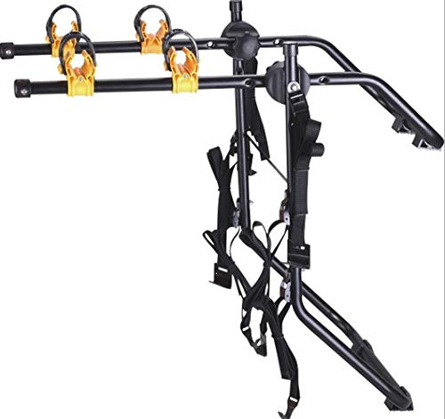 LYzpf Auto Cycle Carrier Achter Rack Bike Stand Opslag Fiets Carrier Transport Draagbaar Outdoor Metaal