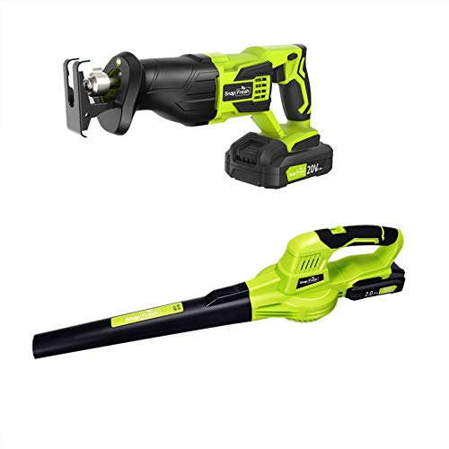 20V Leaf Blower Cordless with Reciprocating Saw