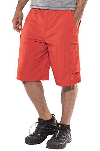 Columbia - AM4084 - Silver Ridge Cargo Short - Short - Homme - Rouge (Super Sonic) - Taille: 40