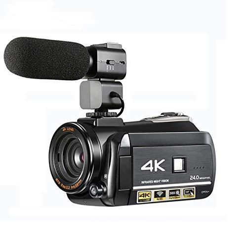 For Sale! WXJHA Video Camera 4K Ultra HD Digital WiFi Video Camcorder 1080P Recorder Night Vision 3....
