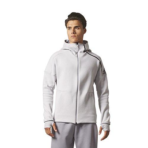 adidas Herren Z.N.E. Pulse Hoodie Kapuzen Sweatshirt, Gretwo, 2XL