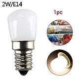 LED Schraube Birne, 1 Stücke E14 220V 2W 2835SMD LED Mini Kühlschrank Gefrierfach Licht Schraube Lampe Birne Warmweiß