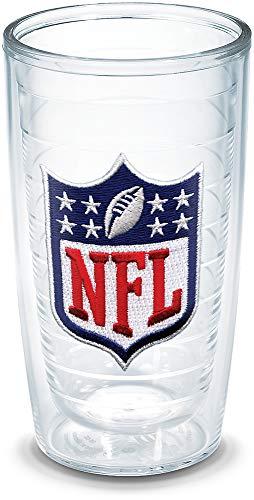 Tervis NFL Logo Shield Emblem Individual Tumbler, 16 oz, Clear -