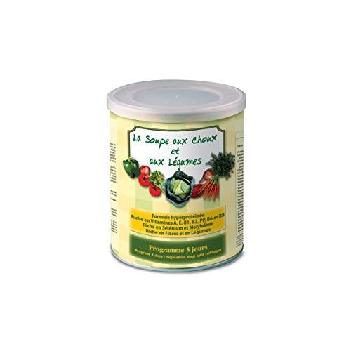 NUTRIEXPERT - LA SOUPE AUX CHOUX ET AUX LEGUMES – Soupe Hyperprotéinée Minceur – Hypocalorique - Régime Express 5 Jours - Brûle graisses - Perte de Poids - 10 Préparations