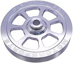 Billet 6 rib Power Steering Pulley for Camaro or Ls with Camaro Spacing