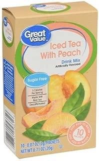 great value peach tea