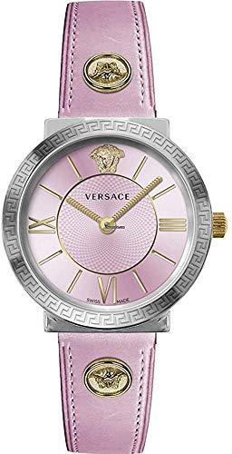 Reloj Versace Glamour VEVE00219 - Analógico Cuarzo para Mujer en Piel
