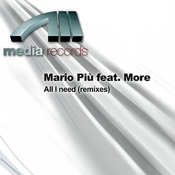 All I Need (Remixes)