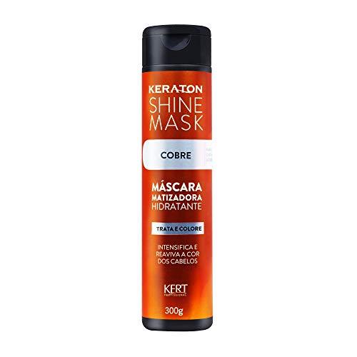 Máscara Matizadora Shine Mask Cobre, Keraton