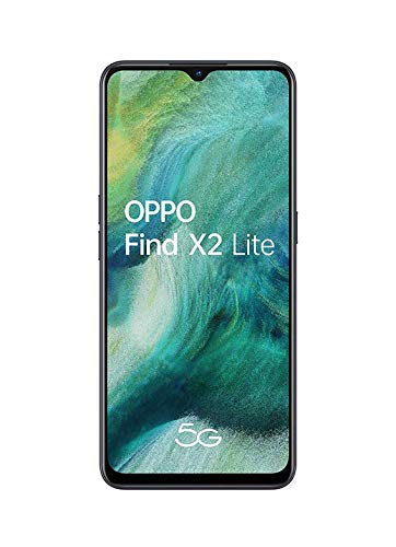 "OPPO Find X2 LITE 5G – Smartphone de 6.4"" AMOLED, 8GB/128GB, Octa-core, cámara trasera  48MP+8MP+2MP+2MP, cámara frontal 32MP, 4.000 mAh, Android 10, color Negro"