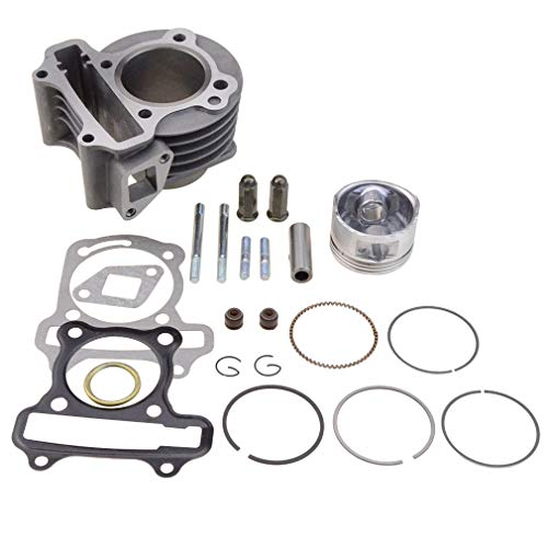 GOOFIT Performance Big Bore Cylinder Kit GY6 80cc 47mm for 139QMB ATV Scooter Moped Go Kart