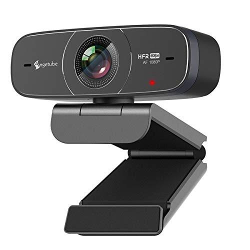 Webcam 1080P 60Fps Enfoque Automatico Marca Angetube