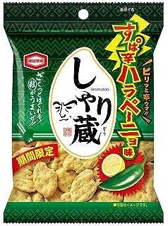 亀田製菓 しゃり蔵 すぱ辛ハラペーニョ味 38g×10袋