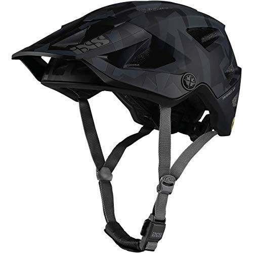 IXS Trigger AM MIPS Helm MTB/E-Bike/Zyklus Erwachsene, Unisex, Camo Schwarz, Medium