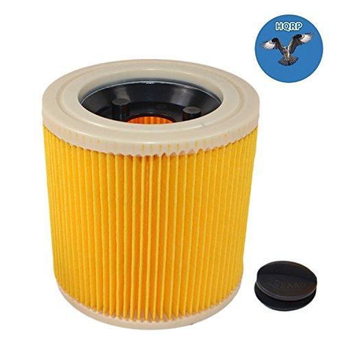 HQRP Filtro a Cartuccia per Kärcher WD 3.200, WD 3.230, WD 3.300, WD 3.310, WD 3.320, WD 3.370, WD 3.500, WD 3.600, WD 3.800, WD 3.150, WD 3200, WD 3300, WD 3500, WD 3800 Aspiratori