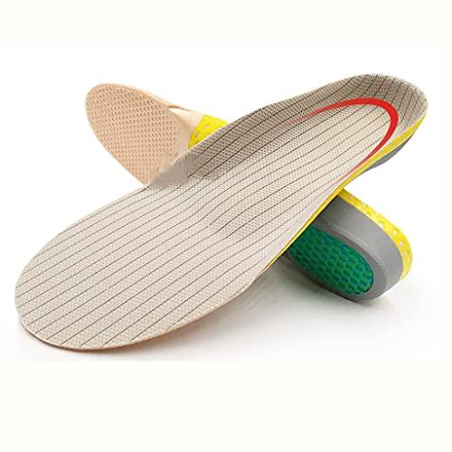 YFQHDD Plantillas Deportivas Unisex para Zapatos Sole Desodorante Absoleador de Descarga de Impactos Soft Soft Mesh Baloncesto Pastillas de Baloncesto Inserto (Size : S EU 35-40)