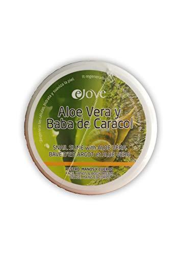 Ejove EJ017 - Crema con Aloe Vera y Baba de Caracol, 200 ml