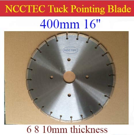 Check Out This Xucus 16'' NCCTEC Diamond Tuck point blade B16TP / 400mm concrete wall tuck pointing ...