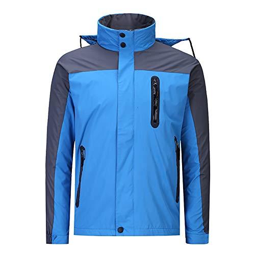 Imperméable Vestes de Ski pour Les Femmes & Hommes Costume de Ski Manteau d'Hiver avec intérieur Polaire Coupe-Vent Habit de Neige Montagne Usure de Couple-B XXXXXL