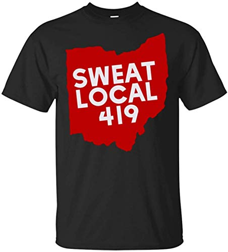 Soft-T Personalizado Hombre Sweat Local 419 Gym Show Your Toledo Ohio Pride Camiseta