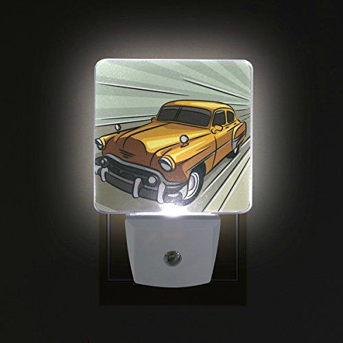 TIZORAX Luz LED de noche para dormitorio, baño, pasillo, escaleras, eficiencia energética