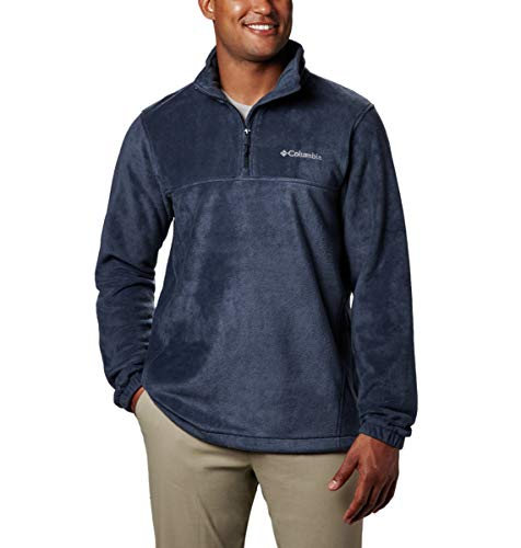 Columbia Men's Steens Mountain Half Zip, Collegiate Navy, Large