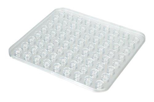 Wenko Cristal Esterilla de Fregadero, 27.5x31x3 cm