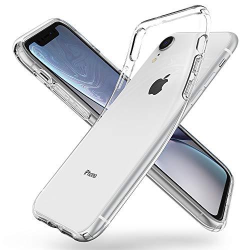 Spigen 064CS24866 Liquid Crystal Cover iPhone XR, Custodia per Apple iPhone XR 6.1 Pollici, Trasparente