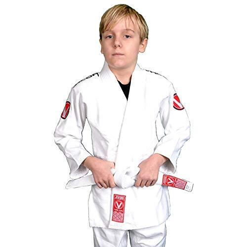 Valor Sento Premium Judoanzug für Kinder, weiß, 130 cm