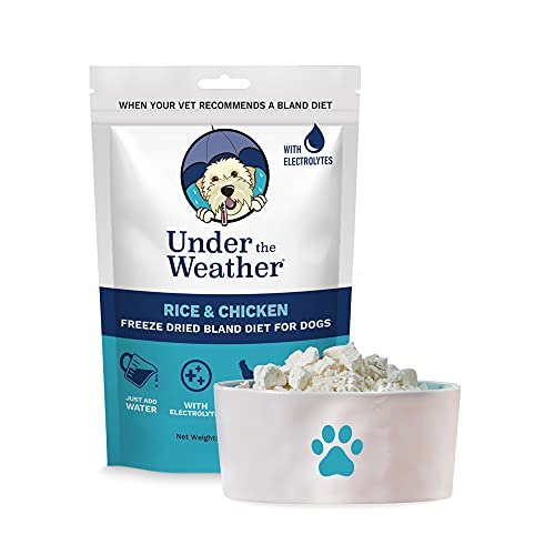 Under the Weather Pets | Easy to Digest Bland Dog Food Diet, Sick Dogs...