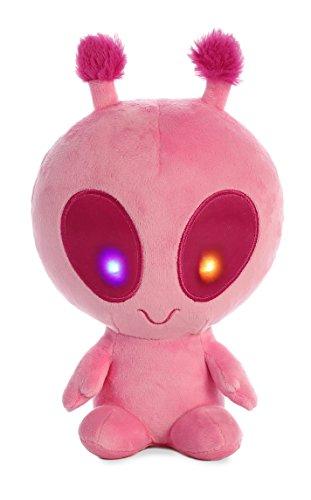Aurora - Galactic Cuties - 8' Solar Light Up Alien, Pink
